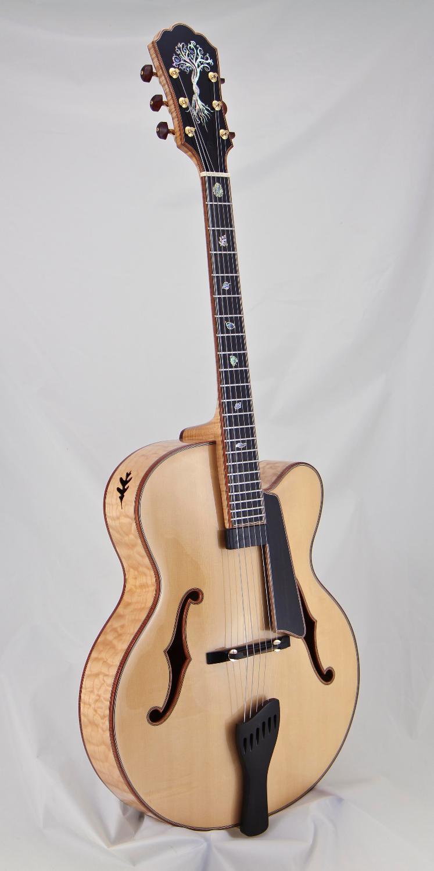 John Buscarino Custom Jazz Archtop Guitars Master